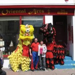 Lion Dance for Oriental Arts, Brighton- An Article by Russell Suthern, Chief Instructor WCMA