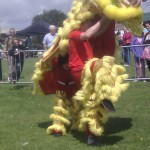 Lion Dances at the Worthing Dragon Boat Race Festival 2012- An Article by Jason Lee Brighton/Worthing/Shoreham WCMA
