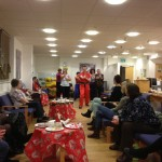 Lion Dance for Brighton Breast Cancer Support Group Christmas Party- An Article by the Chief Instructor, Mr Russell Suthern
