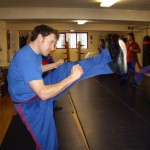 Stretching and Kicking Master Class  An Article By Robert Martin Brighton WCMA
